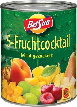 5-Fruchtcotail Mix leicht gezuckert Dose Elbak