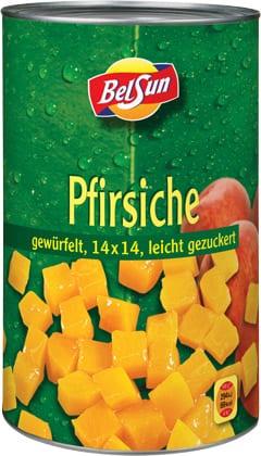 BelSun_PFIRSICHE-gewuerfelt-leicht-gezuckert_4250ml_Dose